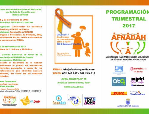 Mes EUROPEO de la concienciación sobre el TDAH