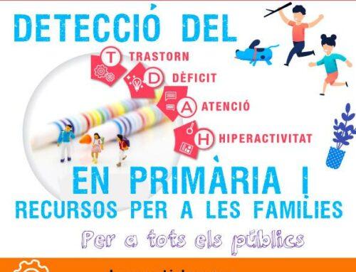 Conferencia sobre la detección del TDAH en primaria